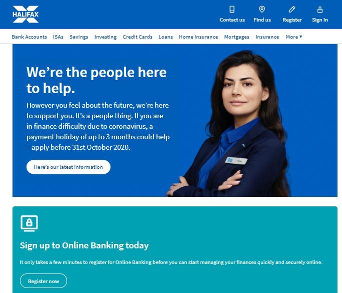 halifax bank online banking