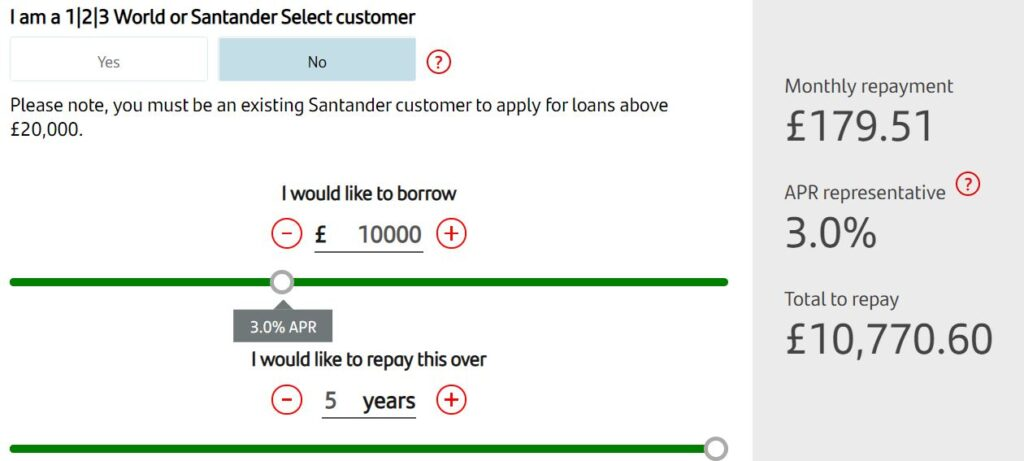 santander bank online banking login register