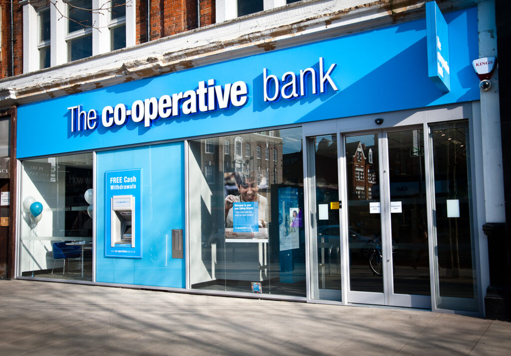 Co-operative-Bank uk branch