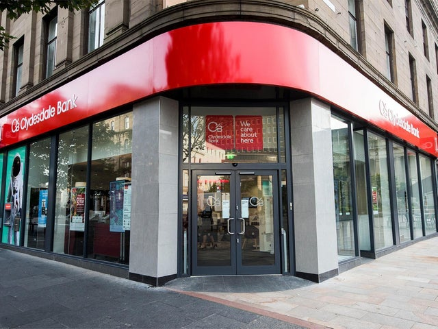 clydesdale bank near me branchs and atm
