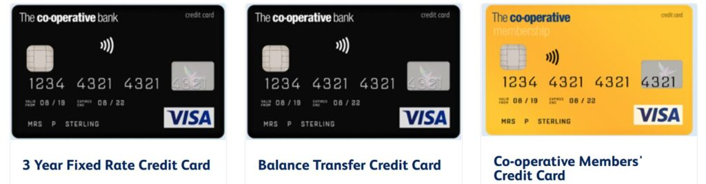 cooperative credit cards, the co-operative credit card, coop credit cards
