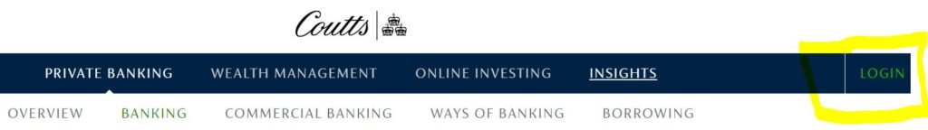 coutts bank online banking login