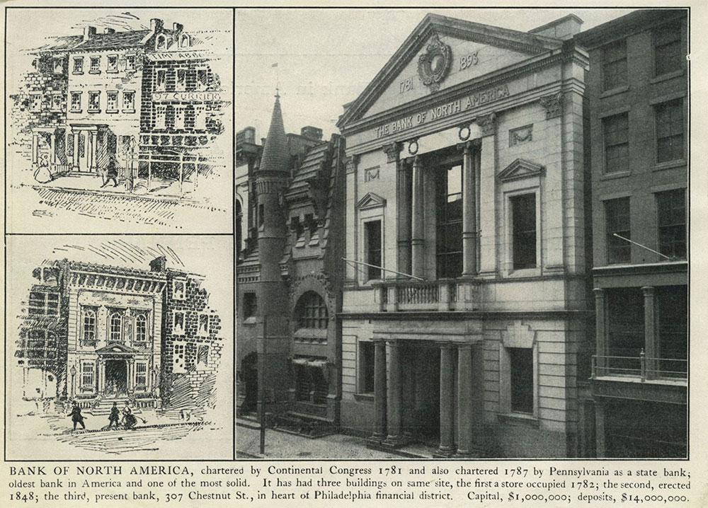 oldest bank in us - bank of north america