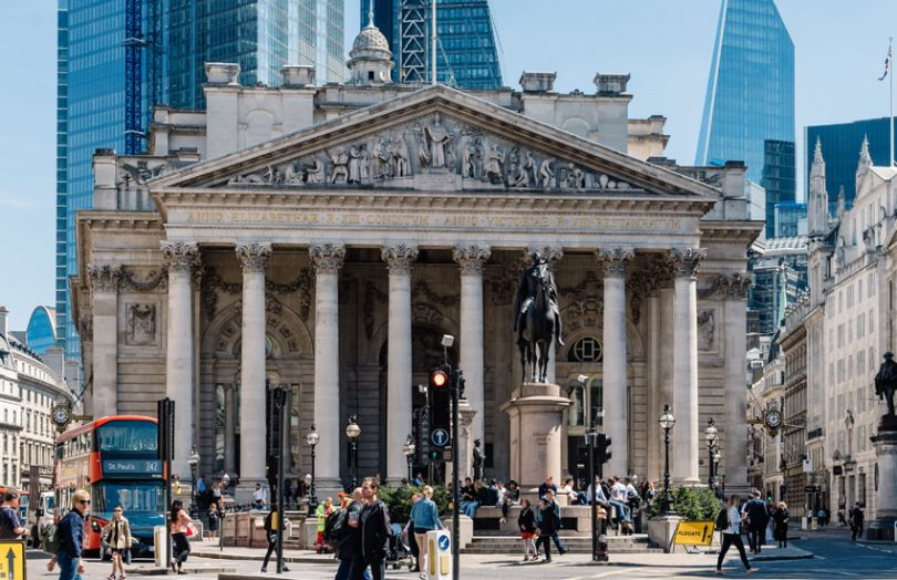 where is bank of england