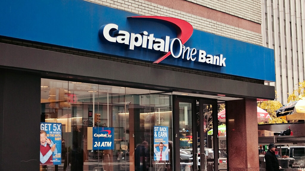 Capital One Bank in the UK